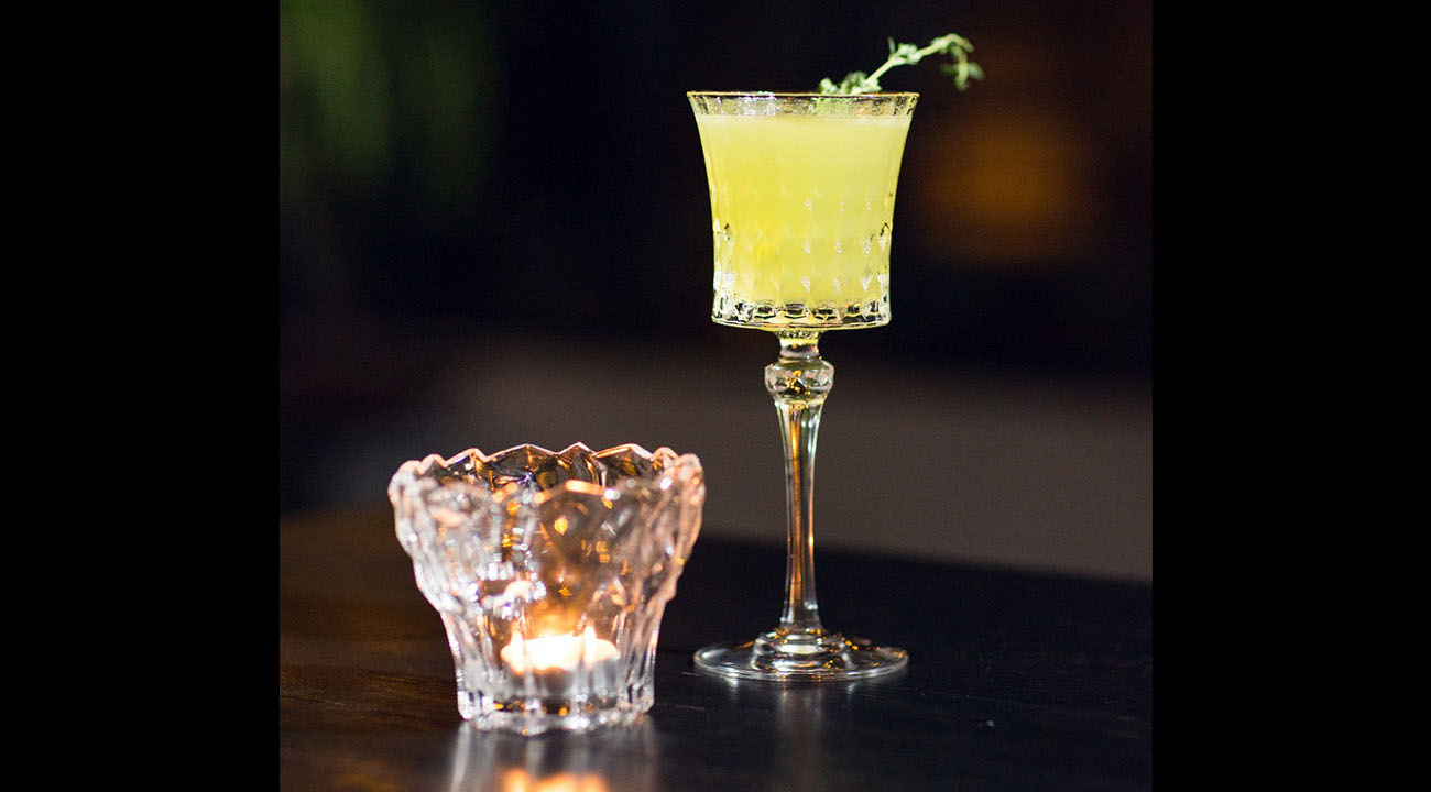 Sip App | Snuffbox yellow cocktail