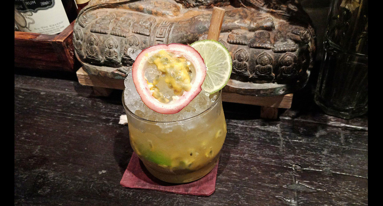 Soma passion fruit drink sip app