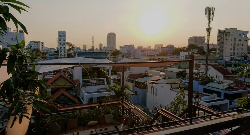 Oasis Rooftop Saigon the sip app