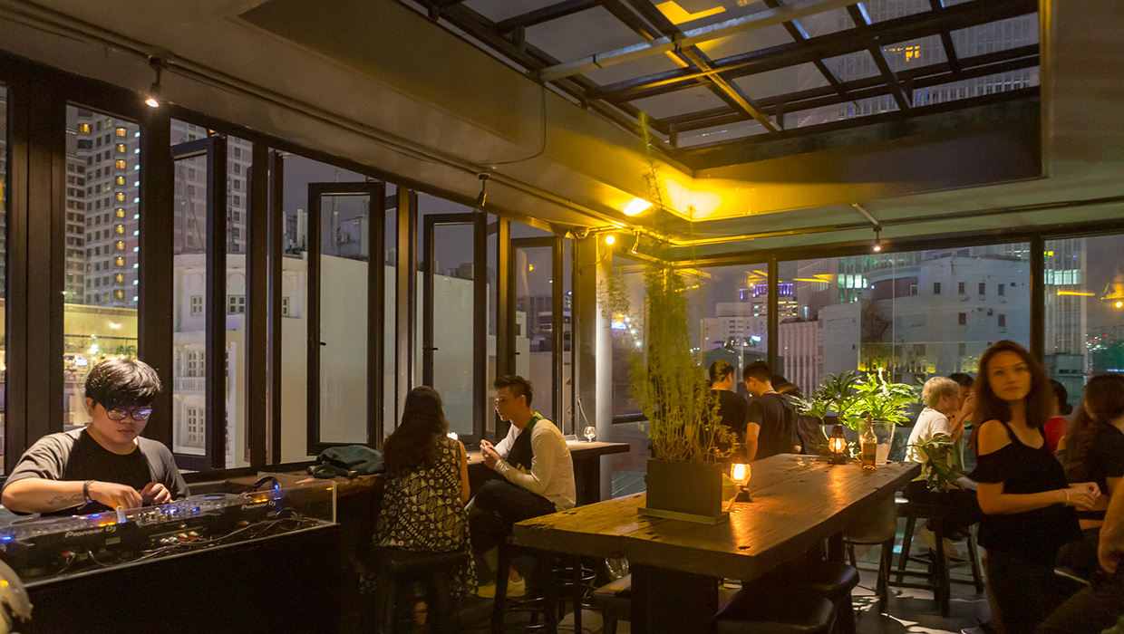 Bann Bar Saigon rooftop